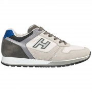Hogan Scarpe sneakers uomo camoscio h321