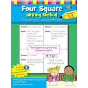 Four Square: Writing Method Grades 1-3 W/Enhanced CD: A Unique Approach to Teaching Basic Writing Skills, Paperback/Judy Gould