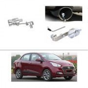 AutoStark Turbo Sound Whistle Exhaust Pipe Blowoff Valve Simulator For Hyundai Xcent 2017