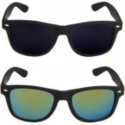 John Dior Wayfarer, Wayfarer Sunglasses(Black, Green)