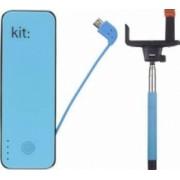 Baterie externa Kit universal Fashion 4500 mAh + Selfie Stick Bluetooth