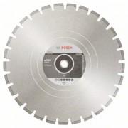 Диск диамантен за рязане Standard for Asphalt, 500 x 25,40 x 3,6 x 10 mm, 1 бр./оп., 2608602628, BOSCH
