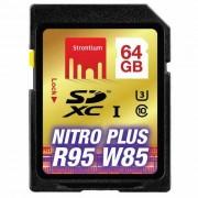 Tarjeta de memoria SDHC de 64 GB de estroncio SRP64GSDU1