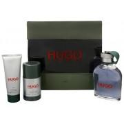Hugo Boss Hugo - EDT 125 ml + 75 ml deodorant solid +gel de duș 50 ml