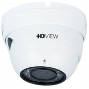 "Camera Supraveghere Video HDVIEW AHD-2SVIR2, 2MP, 1/2.9"" Sony CMOS, 2.8-12mm, IR 30m, 36 LED, Carcasa metal (Alb)"