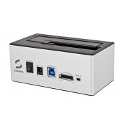 Storeva SilverDock U3 - Dock USB 3.0 et eSATA pour disque dur 2,5'/3,5'