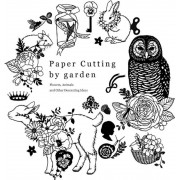 Paper Cutting by Garden: Flowers, Animals and Other Decorating Ideas, Paperback