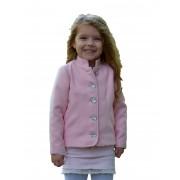 Dívčí vlněný kabátek se stojáčkem Exclusive