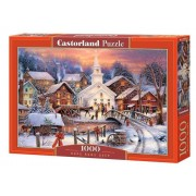 Puzzle Sat iarna - 1000 piese