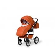 Carucior copii 3 in 1 Germany portocaliu