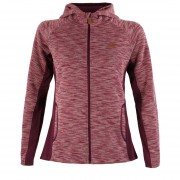 Poleron Lippi Herringbone Blend-Pro Hoody Jacket Mujer Purpura