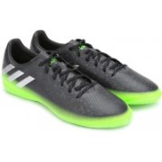 ADIDAS MESSI 16.4 IN Football Shoes For Men(Black, Green)