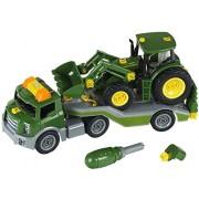 Trailer cu tractor John Deere