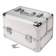 tectake Cosmetica koffer - grijs