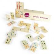 Plum Garden domino spel