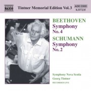 Beethoven/Schumann - Tintner Memorial Edition (0747313223527) (1 CD)
