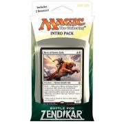 Magic The Gathering: Mtg Battle For Zendikar: Intro Pack / Theme Deck: Hero Of Goma Fada (Includes 2 Booster Packs & Alternate Art Premium Rare Promo) White