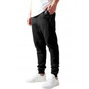 Uomo pantaloni (pantaloni della tuta) URBAN CLASSICS - Leather Pocket - TB849_blk/blk