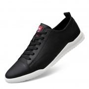 Mode effen kleur lichtgewicht sport casual schoenen voor mannen (kleur: zwart maat: 41)