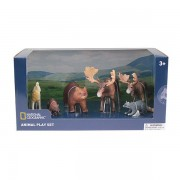 Set 6 figurine Animalute Salbatice National Geographic, 3 ani+