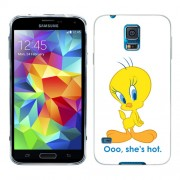 Husa Samsung Galaxy S5 Mini G800F Silicon Gel Tpu Model Tweety