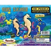 Creatology Wooden Puzzle-Sea Horse