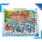 PUZZLE FORTELE POLITIEI 35 PIESE Ravensburger