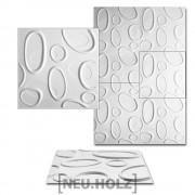 3D Панел за стенна декорация [neu.haus]® , с мотиви, 50 x 50 cm, 6m², Bjursta
