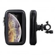 Shop4 - iPhone Xs Max Fietshouder Stuur Spatwaterdicht Zwart