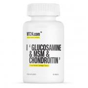 VIT24.com Glucosamine & MSM & Chondroitin 90 Tablete