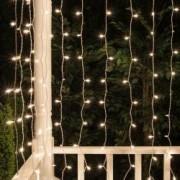 Ghirlanda luminoasa tip perdea 400 LED-uri 2x2 m legare in serie IP44