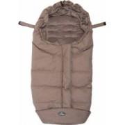 Sac de dormit pentru carucior BO Jungle Taupe cu interior fleece