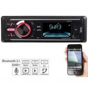 Creasono MP3-Autoradio mit DAB+, Bluetooth, Freisprecher, USB & SD, 4x 50 Watt
