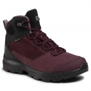 Туристически SALOMON - Outward Gtx W GORE-TEX 409580 23 V0 Winetasting/Black/Quail