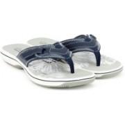 Clarks Brinkley Mila Navy Flip Flops