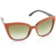 IDEE Cat-eye Sunglasses(Brown)