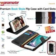 Promate Tava-i6 Premium Book-Style Flip Case with