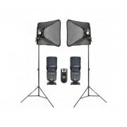 Kit Handy 80 X 80 + 2 Flashes 560 IV Y Tripies