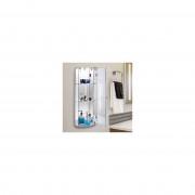 HOMCOM® Glasvitrine Vitrinenschrank Hängevitrine transparent L27,5 x B14 x H73 cm