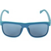 Calvin Klein Retro Square Sunglasses(Blue)