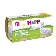 Hipp italia srl Omo Hipp Bio Coniglio+pat2x80g