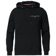Tommy Hilfiger Small Logo Hoodie Black