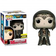 Funko Pop Wonder Woman With Cloak Sepia Sticker Exclusivo
