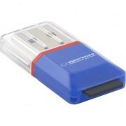 Card Reader Esperanza EA134B, USB 2.0, cititor extern carduri microSD, 480 Mb/s