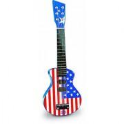 Vilac Rock N Roll Guitar Baby Musical Toy American Flag