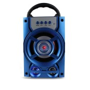 Portable Wireless Bluetooth Speaker Colorful Light Dual Unit Stereo Bass Party Outdoors Speaker