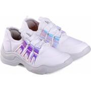 Pantofi Sport Fete Bibi Chunky Albi Colectia Ugly Shoes 30 EU