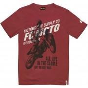 FC-Moto Team-FCM T-shirt S Röd