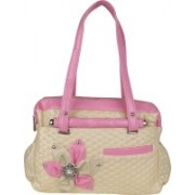 Sumit Collection Shoulder Bag(Pink, White)