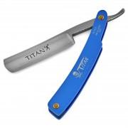 Titan Blaues Stahl Rasiermesser